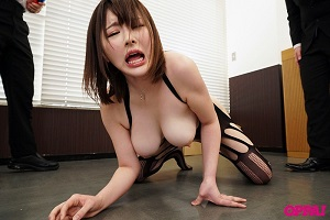 PPPD-870 I Stopped Time And Went To My Annoying Lady Boss And Started Going Crazy Fondling Her Huge Tits And Fucked Her Cum Bucket Pussy